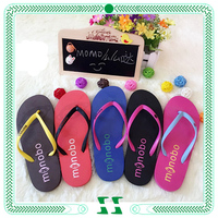 colorful women beach nude slippers