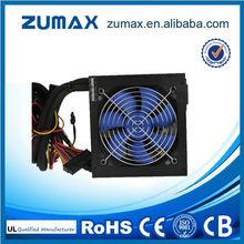ZUMAX EUF350 Active PFC 12V 350W pc power supply 24pin sata interface