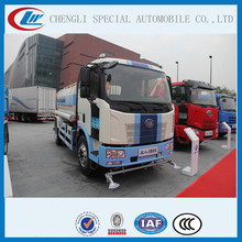 Best prices Water tanker Truck 10000l to 15000l Water Sprinkler truck FAW Watering cleaning vehicle for sale