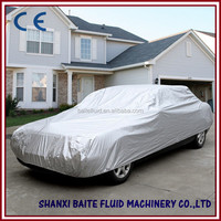 190T polyester car covers uv protection folding garage car cover