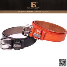 Hot selling men's snake skin leather belt