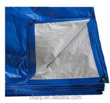 Light blue pe tarpaulin for trucks ,