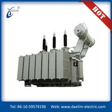 Low Loss oil immersed power transfomer 69kv three-phase on load tap changer transformador