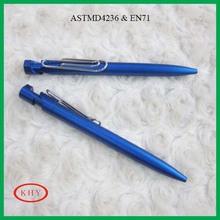Office and school plastic retractable ball pen