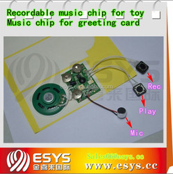 Mini Voice Recording IC Chip for toy and gifts