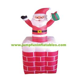 Christmas Inflatables for sale/Cheap Santa Man/Inflatable Giant Christmas Father