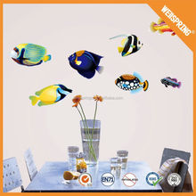 Popular eco-friendly wall decal,handmade vinyl 3d wall sticker