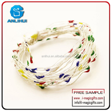 New design Christmas decoration normal rice shaped LED string lighting