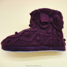 2015 winter new style handwork women's knitting boot