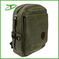 High quality durable 100% cotton canvas side bags for school