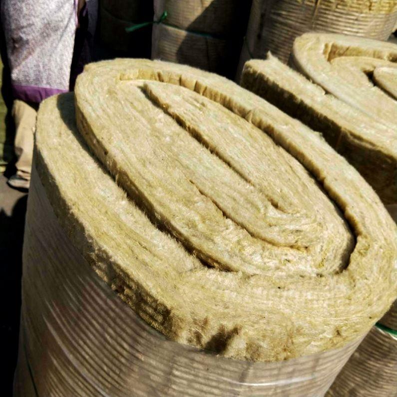 중국 허베이 공급 방음 바위 모직 담요 Rockwool 단열재 바위 모직 펠트 가격