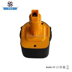 Wholesale 12V 2000mAh NI-CD Cordless Tool Battery for Dewalt
