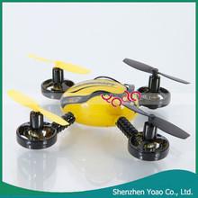 Nuevo estilo 2.4 GHZ 4 canales 6 Axis RC Quadcopter aviones de Control remoto