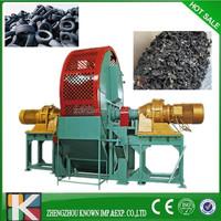 household waste tire shredder, waste plastic tyre crusher shredder machine, large tire shredder for sale