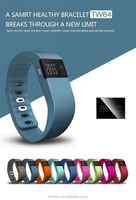 HOT tw64 Smartband Smart bracelet Wristband Fitness tracker Bluetooth 4.0 fitbit flex Watch for ios android better than mi band