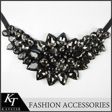 2015 del partido del grano collares de noche elegante de señora vestido collar de perlas collar