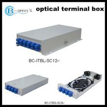 BC-ITBL series fiber optic terminal box 24-ports SC/ST adaptor