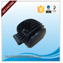 No pin mark aluminum die casting work LED housing heat sink