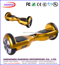 6.5 Inch LED Light Max Load 120KG 2 Wheels Smart Hands Free Self Balancing Electric Scooter