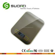 slim stainless steel kitchen scale