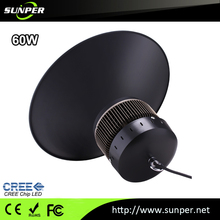 Low Energy IP 65 PC Lens led high bay light with ce 0ver voltage protection