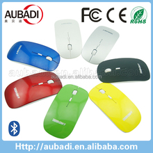 slim gift wireless bluetooth mouse with CPI switch