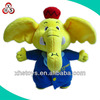 OEM big size yellow elephant toys big nose and ears elephant toys