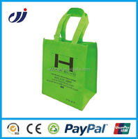 100 polyester non woven fabric bag made in China/fabric retail bags/pp non woven bags