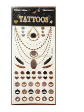 Excellent quality best selling gold tattoo sticker line
