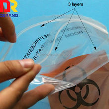 LDPE Specimen Bag With Pouch on Front