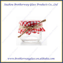 wholesale 30ml Mini Hexagon Glass Jars for Jam, wedding favors