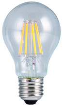 Hot sale 360 degree E27 A60 6w led bulb filament light with low cost