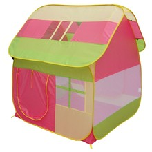 Pop up fabric kid play tent kids folding house tent