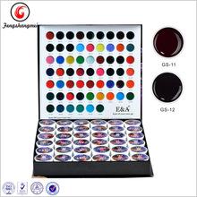 HOT New 36 Mix Colors 3D Glitter UV Builder Gel Acrylic Nail Art Decoration