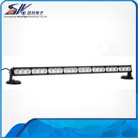 72W single side LED strobe warning flash light bar 8 sections 24 LEDs roof light traffic advisor offroad RL8P-013