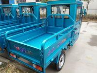 three wheel mini cargo truck tricycle with steering wheel