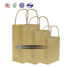 2015 Factory directly kraft paper bag for food packaging paper bag for food packing paper bag food packaging