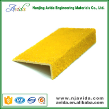 Gritted Surface Fiberglass Composite Stair Tread Covers