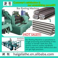 autumn big bargain horizontal peeler stainless steel bars processing production line
