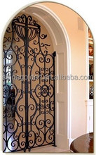 WH-15G7165 Complicated patterns indoors wrought iron hotel gate