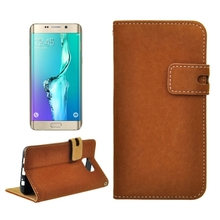 Alibaba China Mobile Flip Leather Case for Samsung Galaxy S6 Edge plus Cell Phone Cases