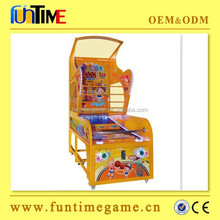 Hot selling arcade hoop fever basketball game machine / hoop fever basketball game outdoor
