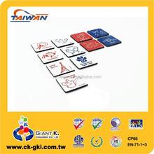 For sale home decor square small decorative magnets