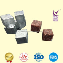 4g/cube packing health food spices tomato/chicken/crayfish/beef/fish/mutton flavor bouillon cube