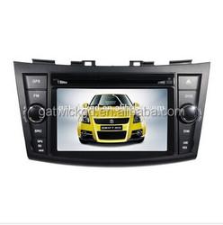SA Multi language car dvd playerDVD car auido navigation system for 2012 Suzuki Swift