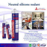 Neutral Silicone Sealant china supplier/ silicone sealant materials use for furniture/ oil proof silicone sealant