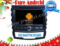 FOR Ssangyong Kolando/ACTION android 4.2.2 Car DVD GPS,Cortex A9 Dual Core,Support Rear View Camera/BOD/Steering Wheel Control