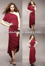 Korean lady dress, summer maxi dress,