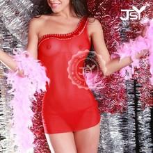 hot sexy vedere attraverso trasparente color nudo mature biancheria intima femminile senza reggiseno