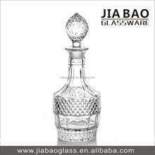 Gift Design Glass Decanter, High white wine glassware, New Design Glass Bottle